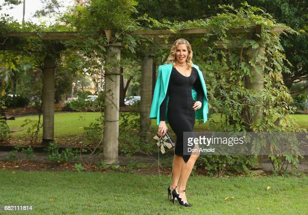 AthenaX Levendi poses during a photo call for the Real Housewives of Sydney at Chiswick Restaurant on May 12 2017 in Sydney Australia
