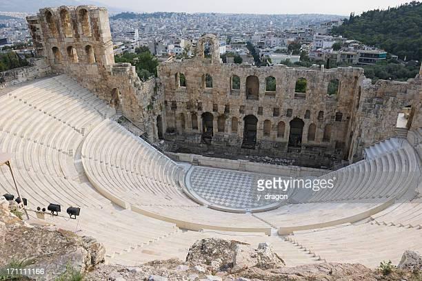 Athens Acropolis theater Greece