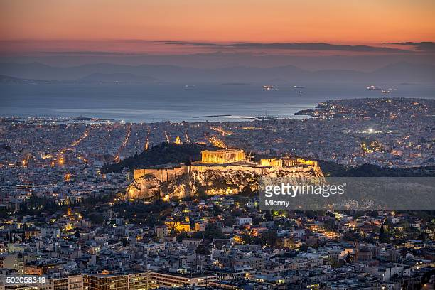 Atene a notte