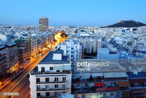 Athens Cityscape - XLarge