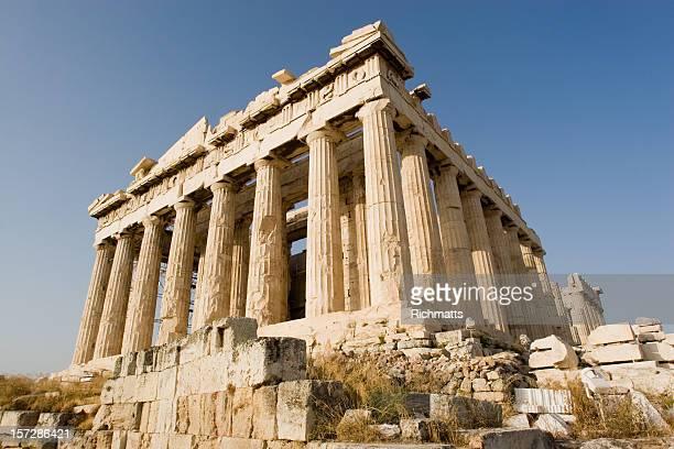 Den Parthenon in Athen, Akropolis