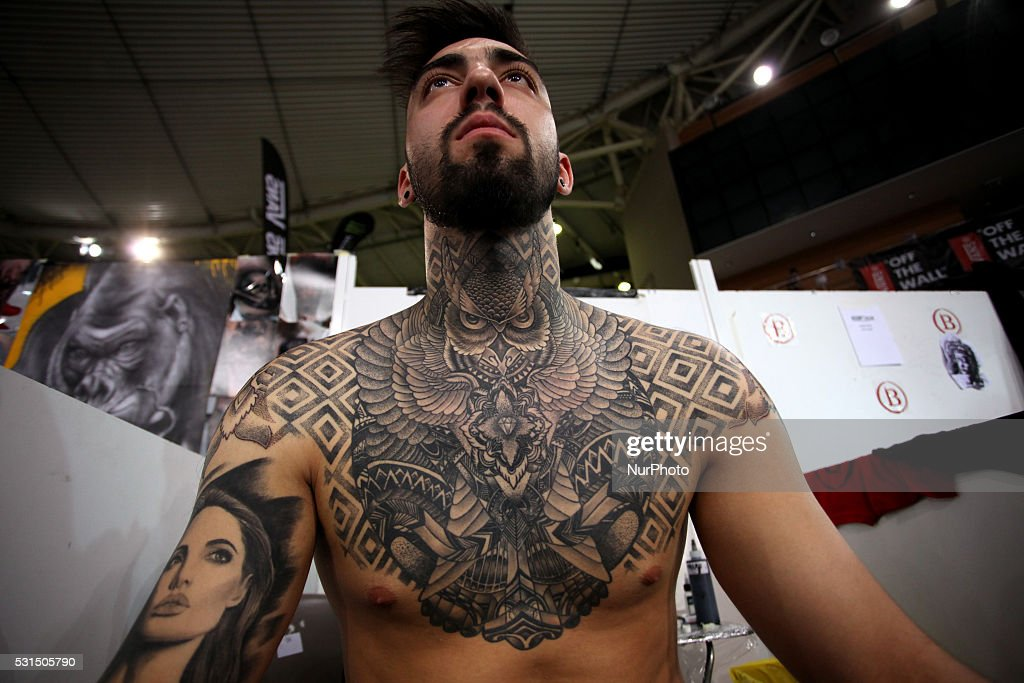 Athens tattoo convention 2016 getty images for Upcoming tattoo conventions