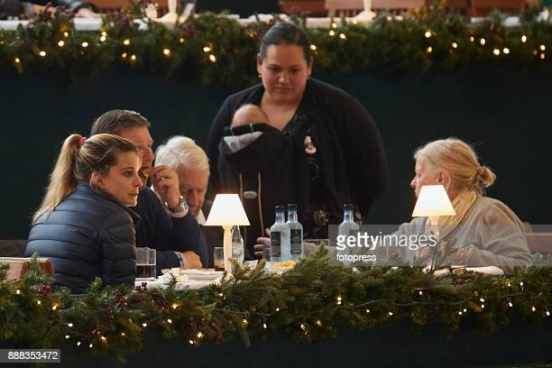 Athina Onassis attends during CSI Casas Novas Horse Jumping Competition on December 8 2017 in A Coruna Spain