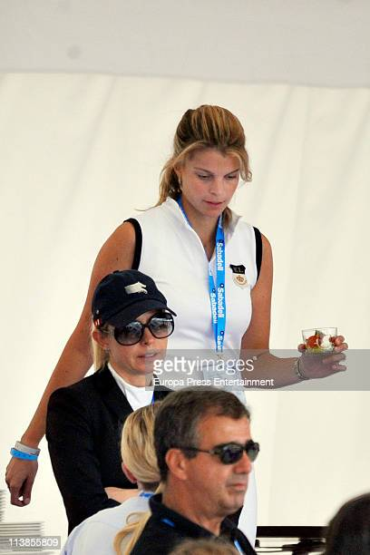 Athina Onassis attends during the Global Champions Tour 2011 on May 8 2011 in Valencia Spain