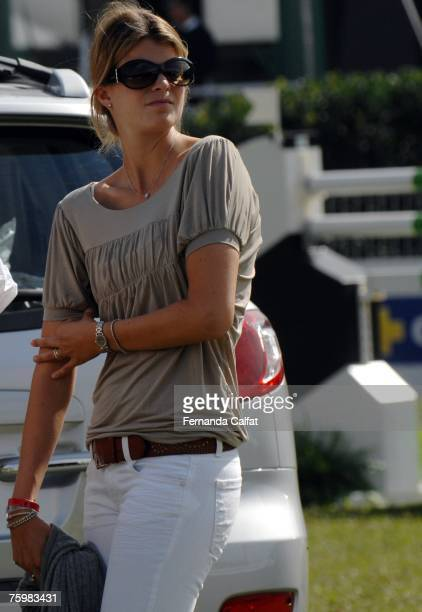 Athina Onassis attends the Athina Onassis International Horse Show at Hipica Paulista on August 4 2007 in Sao Paulo Brazil