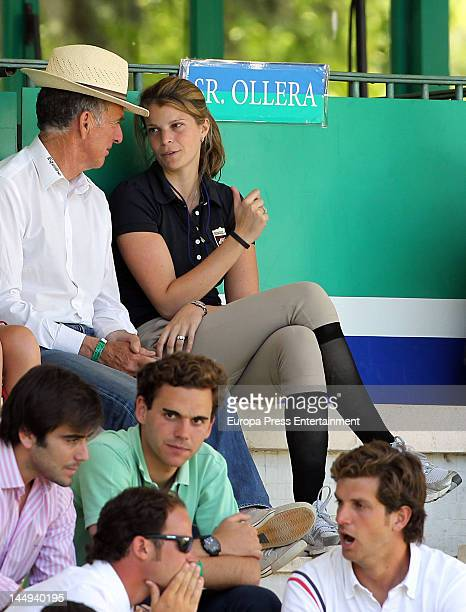 Athina Onassis attends The CII International Horse Jumper Contests on May 20 2012 in Madrid Spain