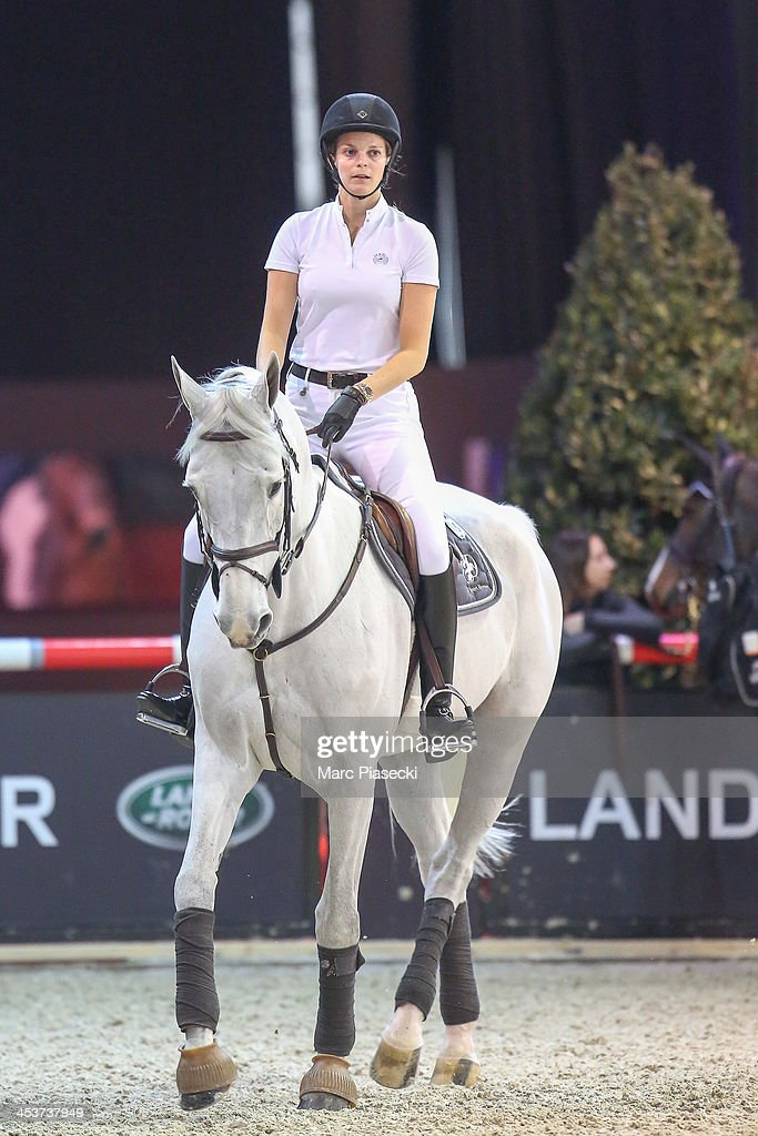 Athina Onassis attends the 'Gucci Paris Masters 2013' at Paris Nord Villepinte on December 5, 2013 in Paris, France.