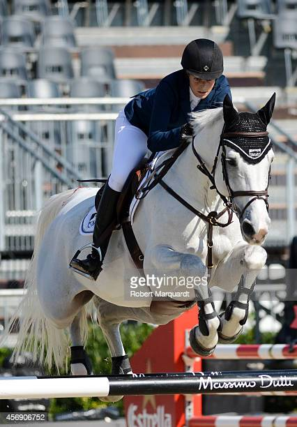 Athina Onassis de Miranda is seen at the 'CSIO Barcelona 2014 103rd International Show' held at the Real Club de Polo de Barcelona on October 9 2014...