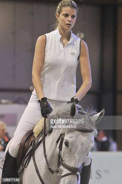 Athina Onassis in Villepinte France on December 10th 2009