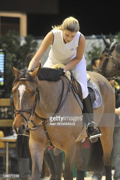Athina Onassis in Villepinte France on December 11th 2009