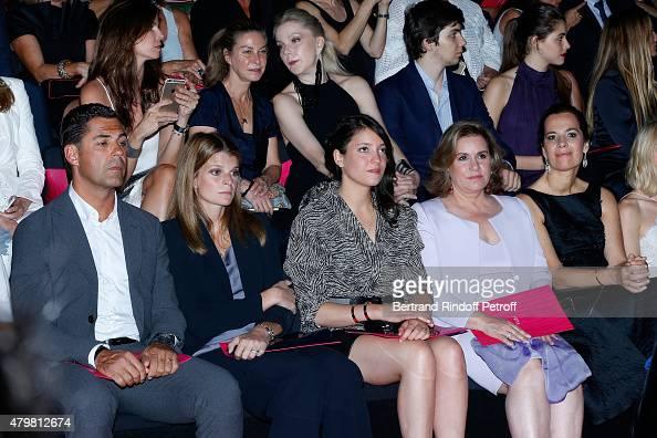 Athina Onassis with her husband Alvaro de Miranda Neto Grand Duchess Maria Teresa de Luxembourg with her daughter Princess Alexandra de Luxembourg...