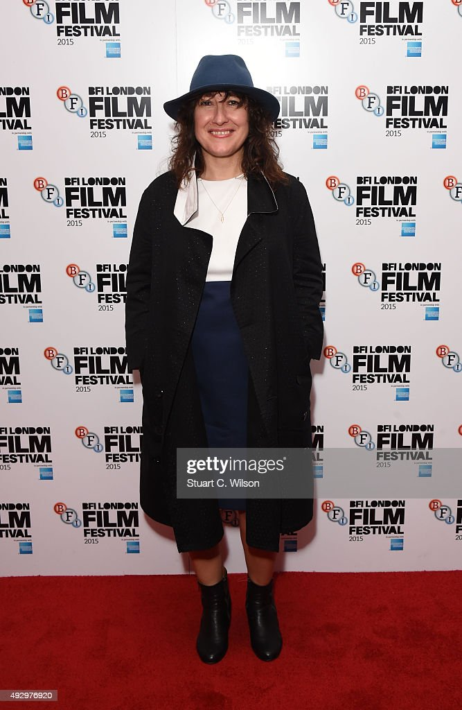 Athina Rachel attends the 'Chevalier' screening during the BFI London Film Festival at Vue Leicester Square on October 16, 2015 in London, England.
