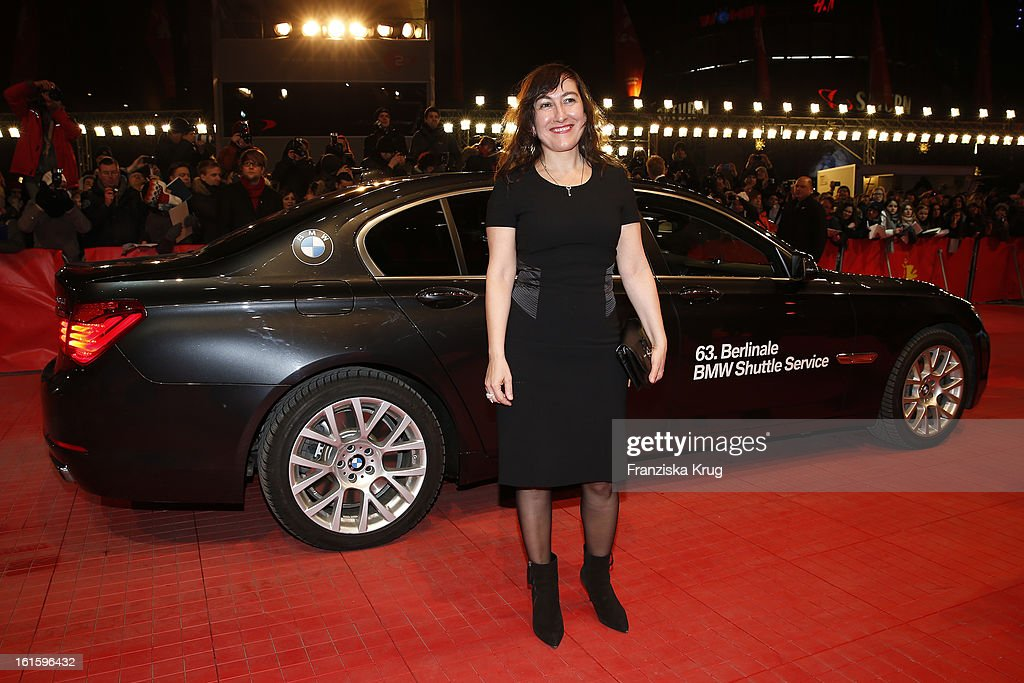 Athina Rachel Tsangari attends 'Side Effects' Premiere - BMW at the 63rd Berlinale International Film Festival at Berlinale Palast on February 12, 2013 in Berlin, Germany.