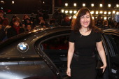 Athina Rachel Tsangari attends 'Side Effects' Premiere BMW at the 63rd Berlinale International Film Festival at Berlinale Palast on February 12 2013...
