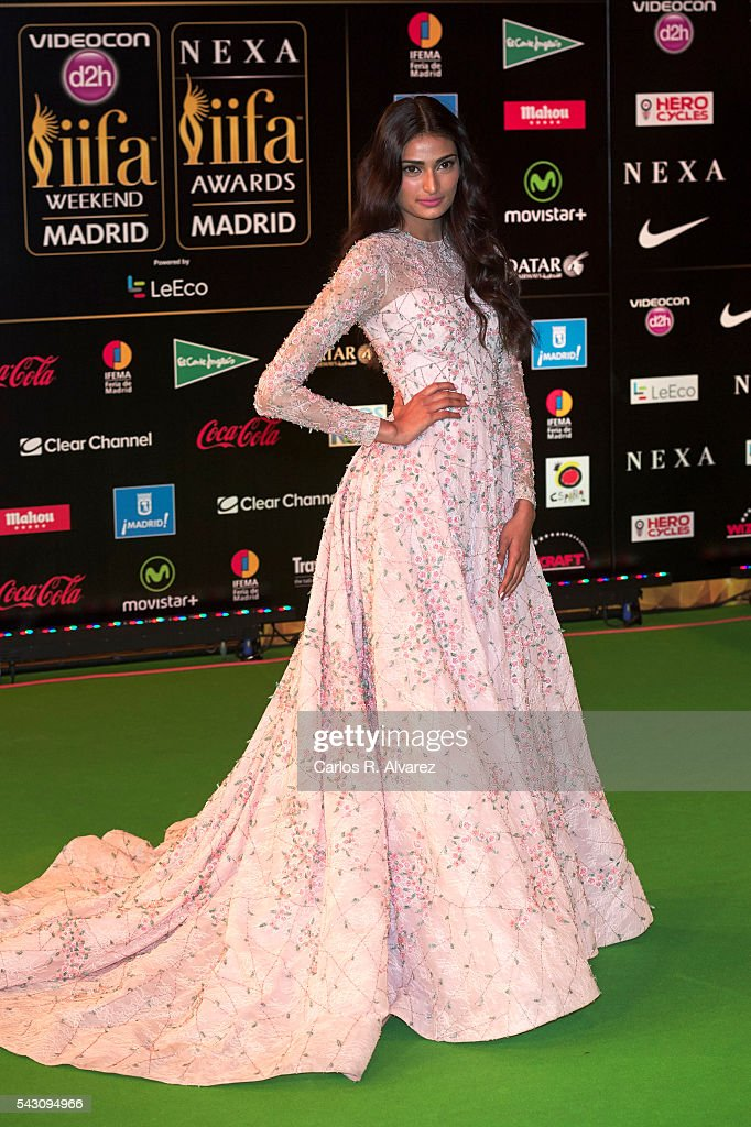 Athiya Shetty attends the 17th IIFA Awards (International Indian Film Academy Awards) at Ifema on June 25, 2016 in Madrid, Spain.