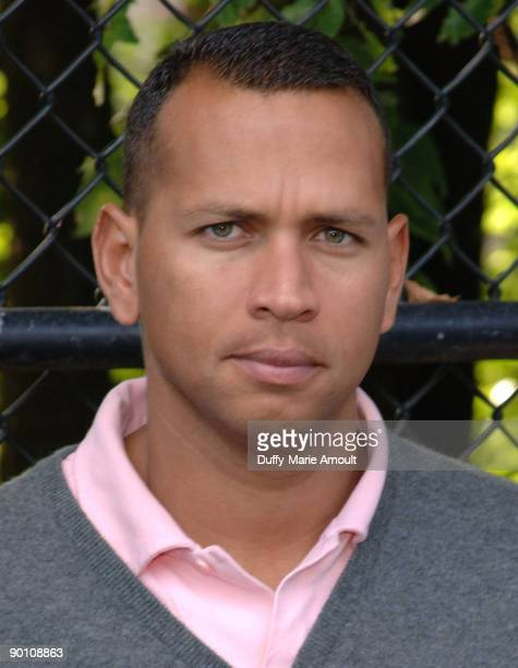 Athlete Alex Rodriguez attends the AllStar Little League Game at Franz Siegel Park on June 6 2009 in New York City