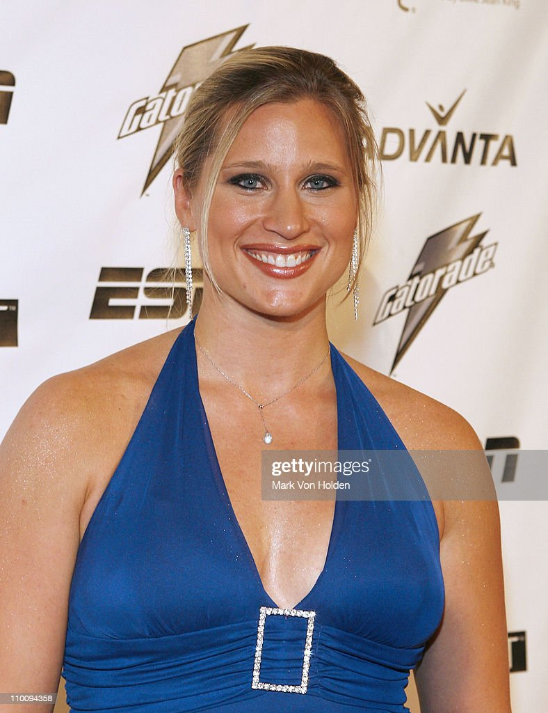 Athlete <a gi-track='captionPersonalityLinkClicked' href=/galleries/search?phrase=Angela+Ruggiero&family=editorial&specificpeople=220275 ng-click='$event.stopPropagation()'>Angela Ruggiero</a> arrives on the Playtex Sport Pink Carpet at The 28th Annual Salute to Women in Sports Awards Dinner on October 15, 2007 at New York's Waldorf Astoria Hotel.
