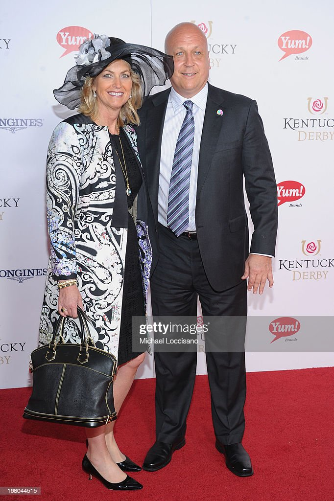 Athlete Cal Ripken, Jr. and wife Kelly Ripken attend the 139th Kentucky Derby at Churchill Downs on May 4, 2013 in Louisville, Kentucky.