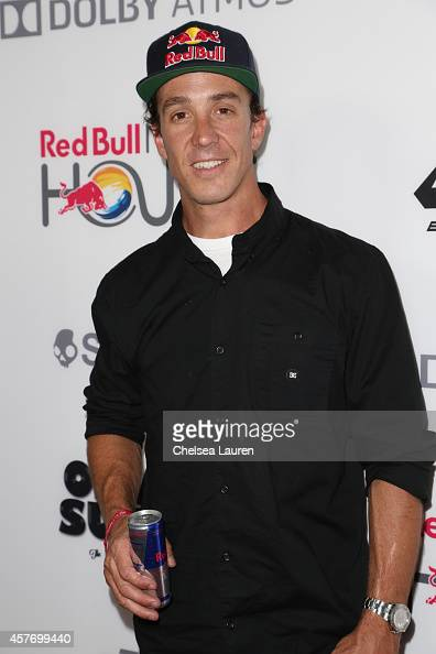 Athlete / cast member Robbie Maddison arrives at the 'On Any Sunday The Next Chapter' a film from Red Bull Media House premiere at Dolby Theatre on...