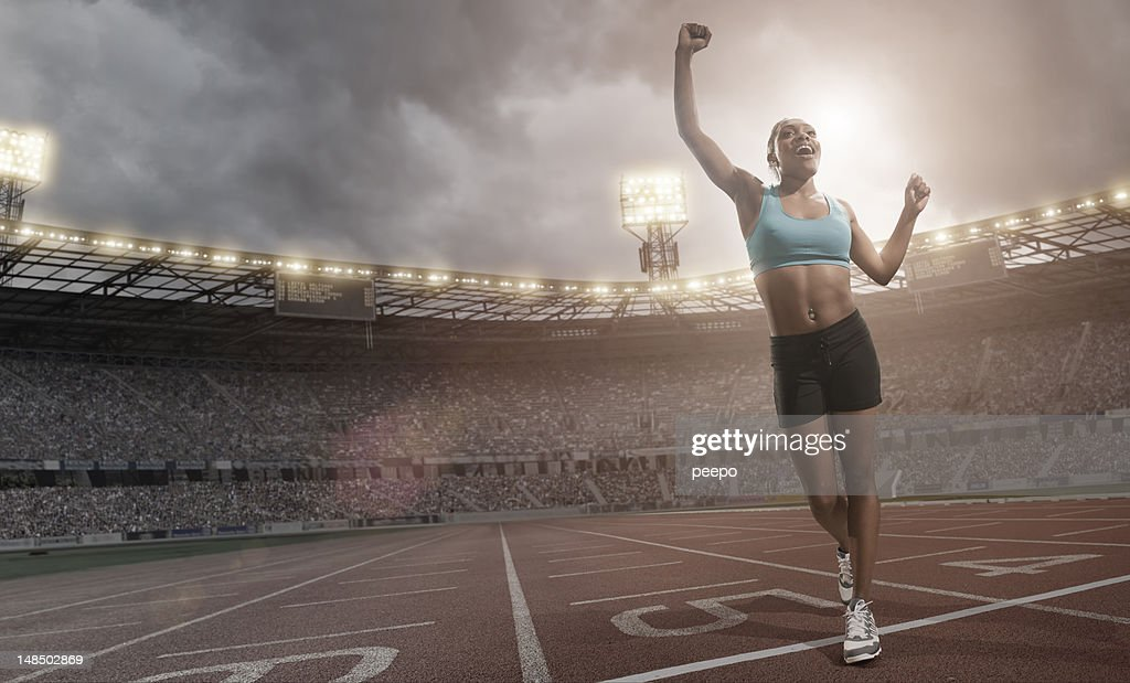 athlete : Stock Photo