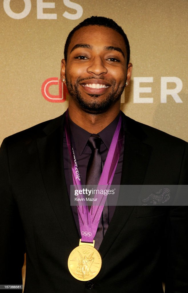 Athlete <a gi-track='captionPersonalityLinkClicked' href=/galleries/search?phrase=Cullen+Jones&family=editorial&specificpeople=1047215 ng-click='$event.stopPropagation()'>Cullen Jones</a> attends the CNN Heroes: An All Star Tribute at The Shrine Auditorium on December 2, 2012 in Los Angeles, California. 23046_005_KM_0281.JPG