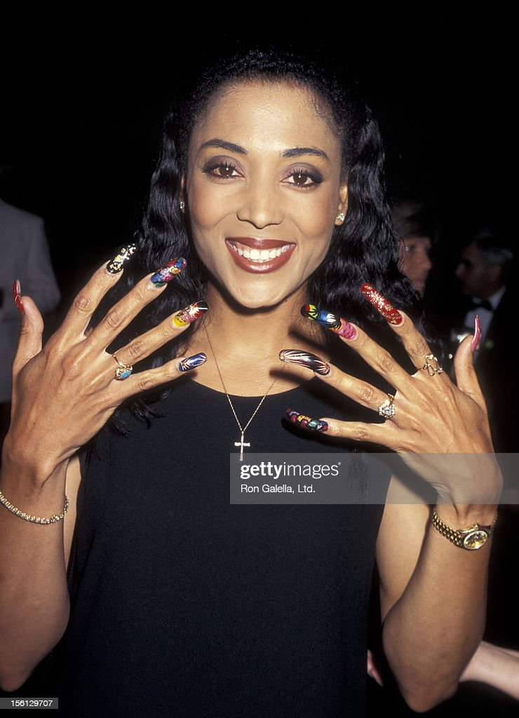 Athlete Florence Griffith-Joyner attends ...