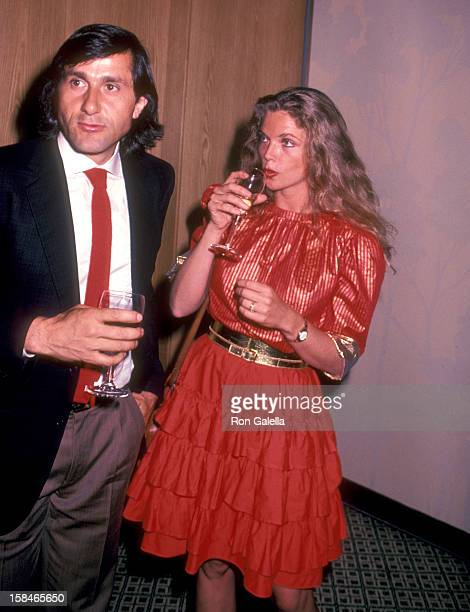 Athlete Ilie Nastase and date Adelaide Alexandra King attend New York's First Street Festival of the Arts on August 30 1982 at East 32nd Street...