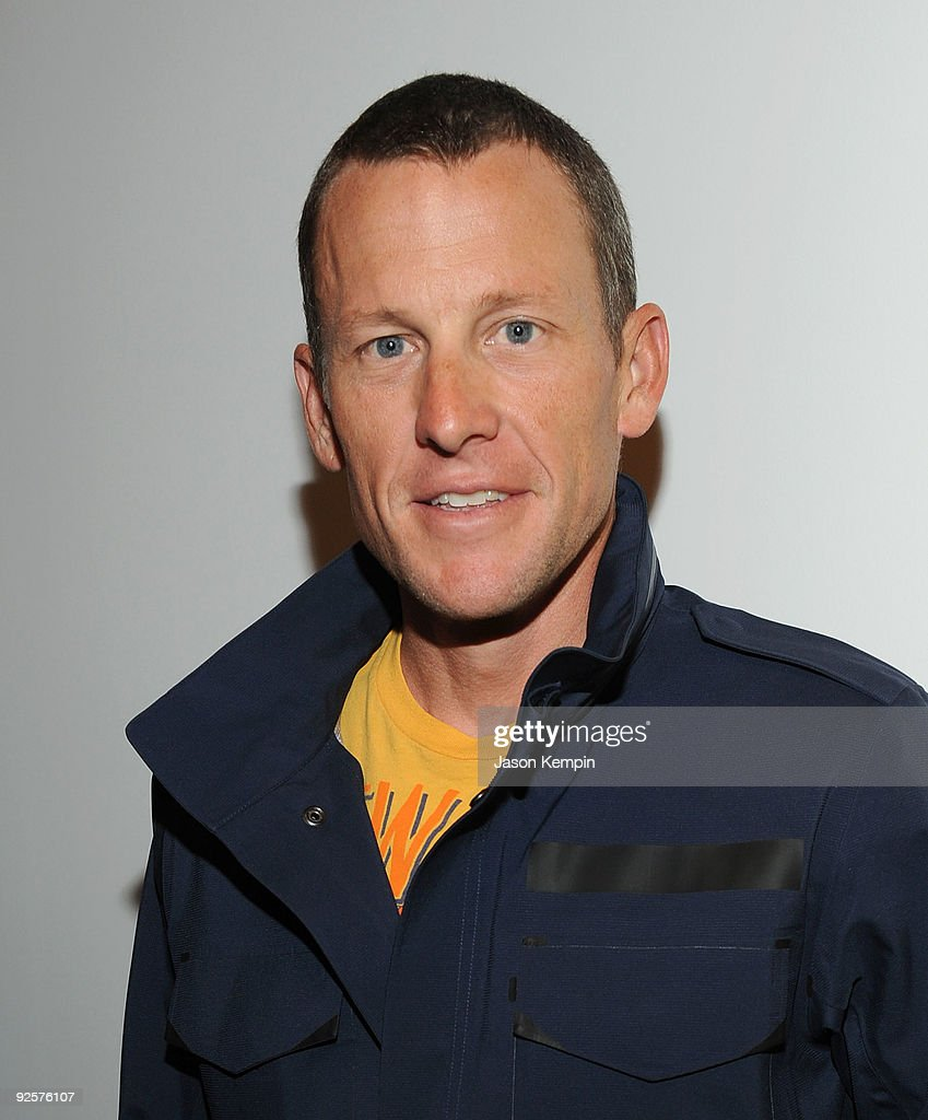 Athlete <a gi-track='captionPersonalityLinkClicked' href=/galleries/search?phrase=Lance+Armstrong&family=editorial&specificpeople=203072 ng-click='$event.stopPropagation()'>Lance Armstrong</a> attends the Opening Reception of STAGES at Deitch Projects on October 30, 2009 in New York, New York.