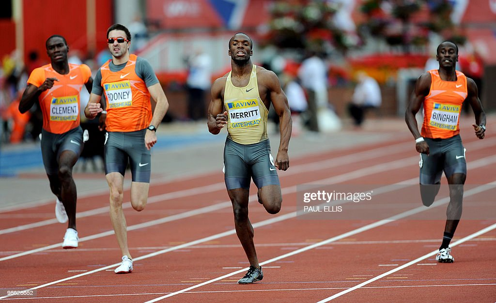 Kerron Clement athlete