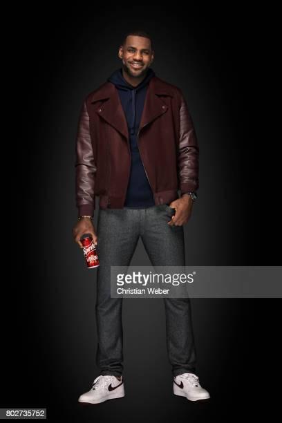 Athlete LeBron James is photographed on November 18 in Cincinnati Ohio