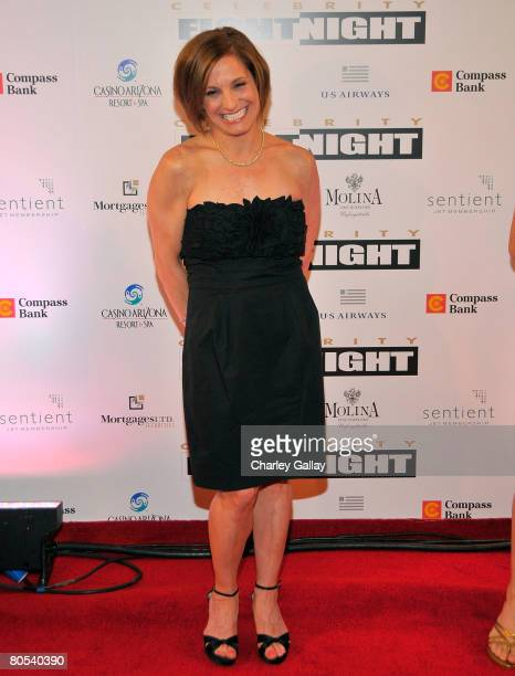 Athlete Mary Lou Retton arrives to Muhammad Ali's Celebrity Fight Night XIV at the JW Marriott Desert Ridge Resort Spa on April 5 2008 in Scottsdale...