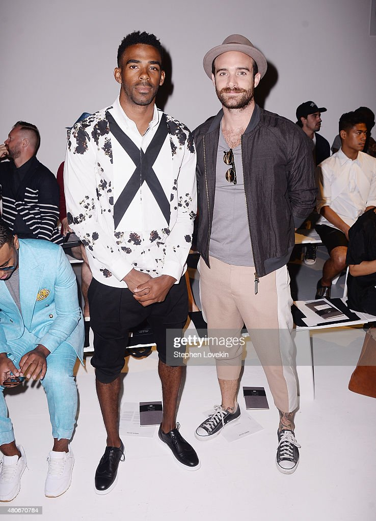 Robert Geller - Front Row - New York Fashion Week: Men's S/S 2016