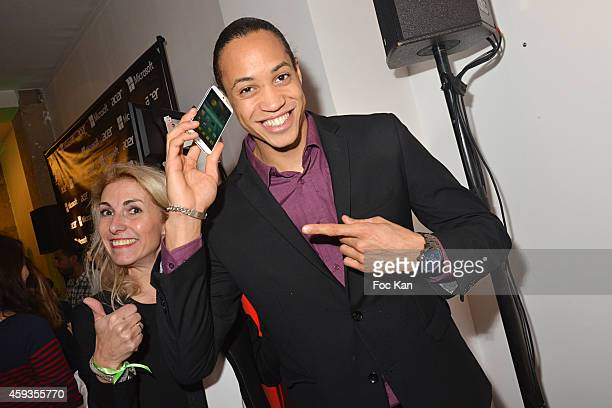 Athlete Pascal Martinot Lagarde attends the Acer Pop Up Store Launch Party at Les Halles on November 20 2014 in Paris France