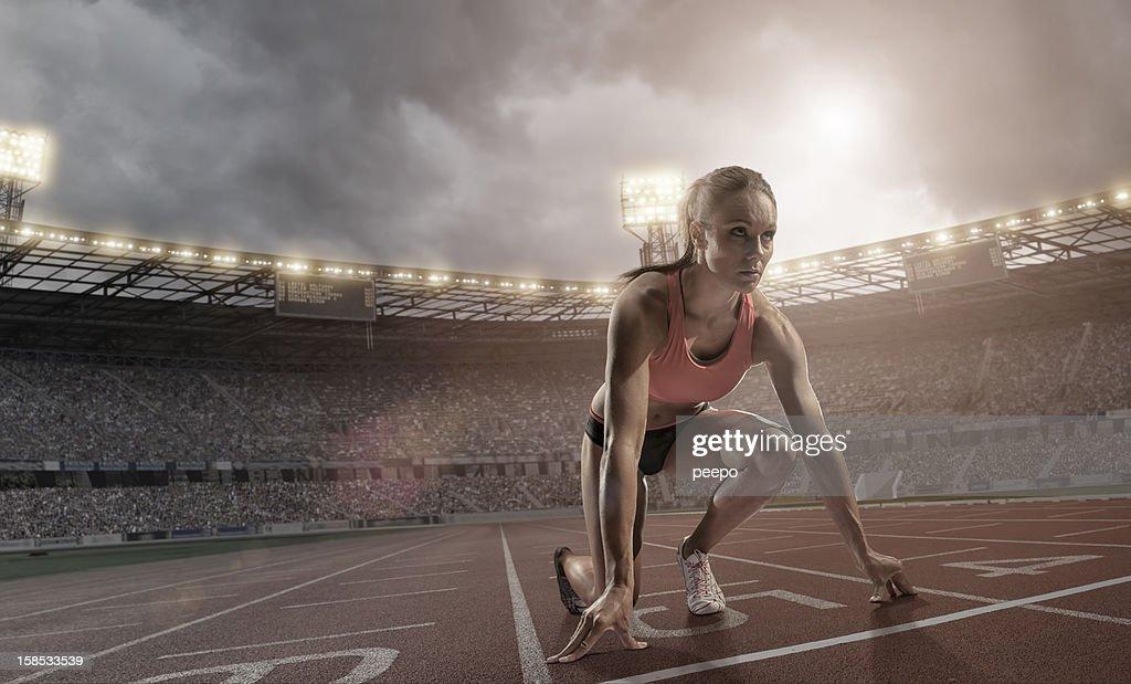 Athlete : Stock Photo