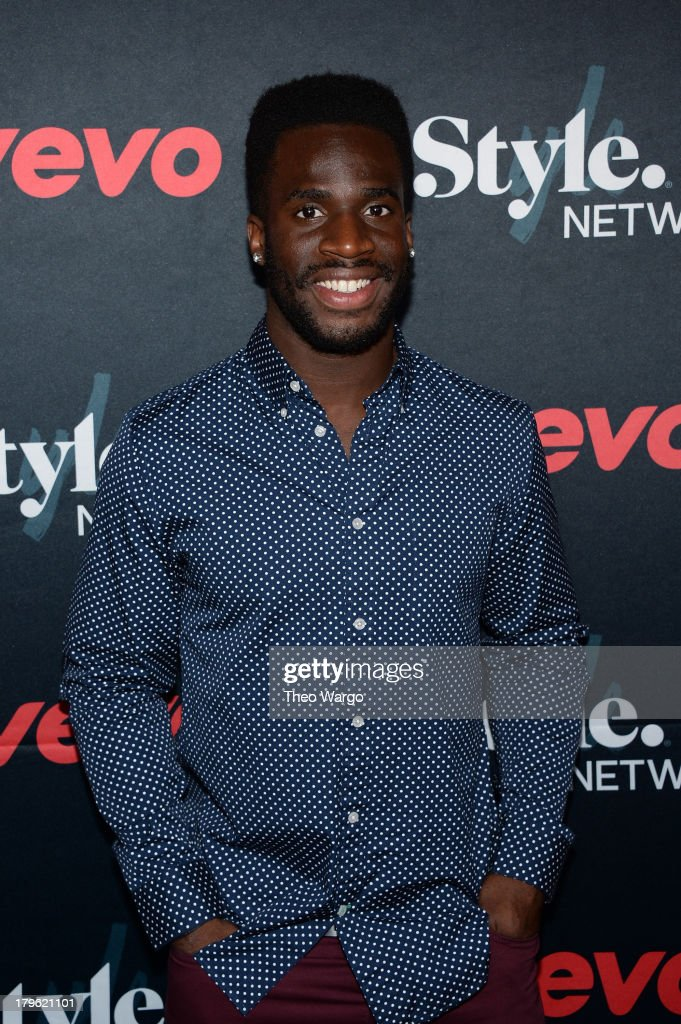 Athlete Prince Amukamara attends the VEVO and Styled To Rock Celebration Hosted by Actress, Model and 'Styled to Rock' Mentor Erin Wasson with Performances by Bridget Kelly & Cazzette on September 5, 2013 in New York City.