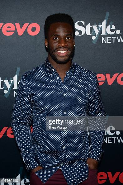 Athlete Prince Amukamara attends the VEVO and Styled To Rock Celebration Hosted by Actress Model and 'Styled to Rock' Mentor Erin Wasson with...
