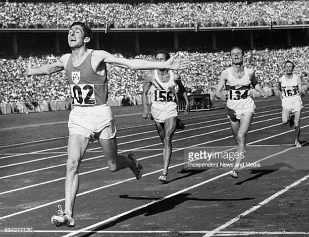 Athlete Ronnie Delaney in 1956