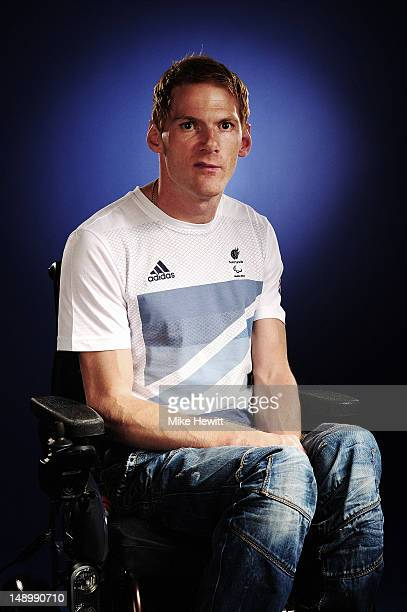 Athlete Stephen Miller attends the Team GB Paralympic launch at the Park Plaza Hotel on July 13 2012 in London England