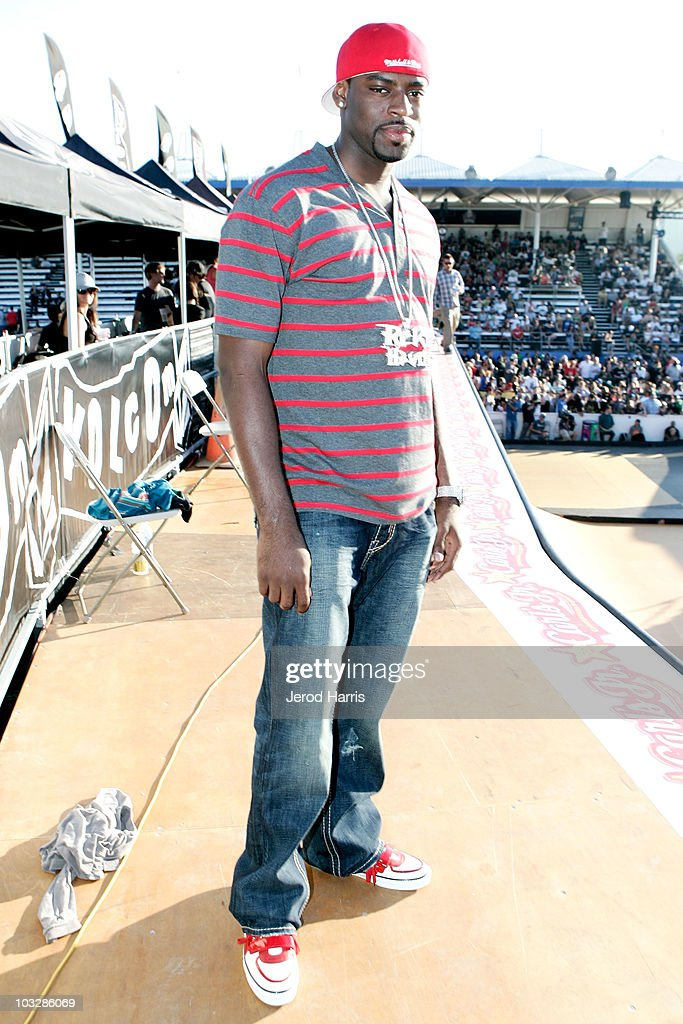 Athlete Tyreke Evans at the Maloof Money Cup on August 7, 2010 in Costa Mesa, California.