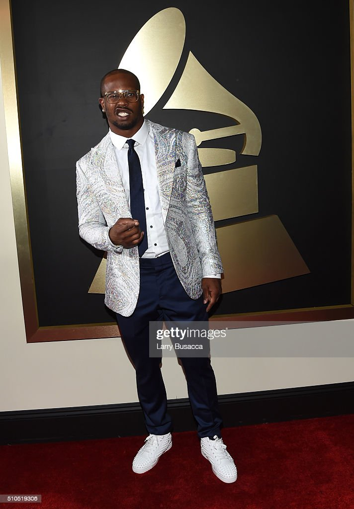 Athlete <a gi-track='captionPersonalityLinkClicked' href=/galleries/search?phrase=Von+Miller&family=editorial&specificpeople=7125735 ng-click='$event.stopPropagation()'>Von Miller</a> attends The 58th GRAMMY Awards at Staples Center on February 15, 2016 in Los Angeles, California.