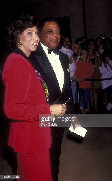 Athlete Willie Mays attends A Party for Richard Pryor on September 7 1991 at the Beverly Hilton Hotel in Beverly Hills California