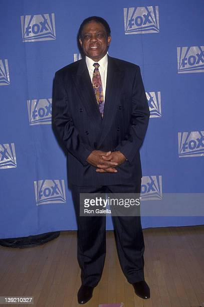 Athlete Willie Mays attends Baseball Relief Benefit for Comic Relief on October 2 1993 at the Raymond Theater in Pasadena California