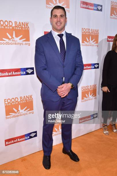 Athlete Zak Deossie attends the Food Bank for New York City CanDo Awards Dinner 2017 on April 19 2017 in New York City