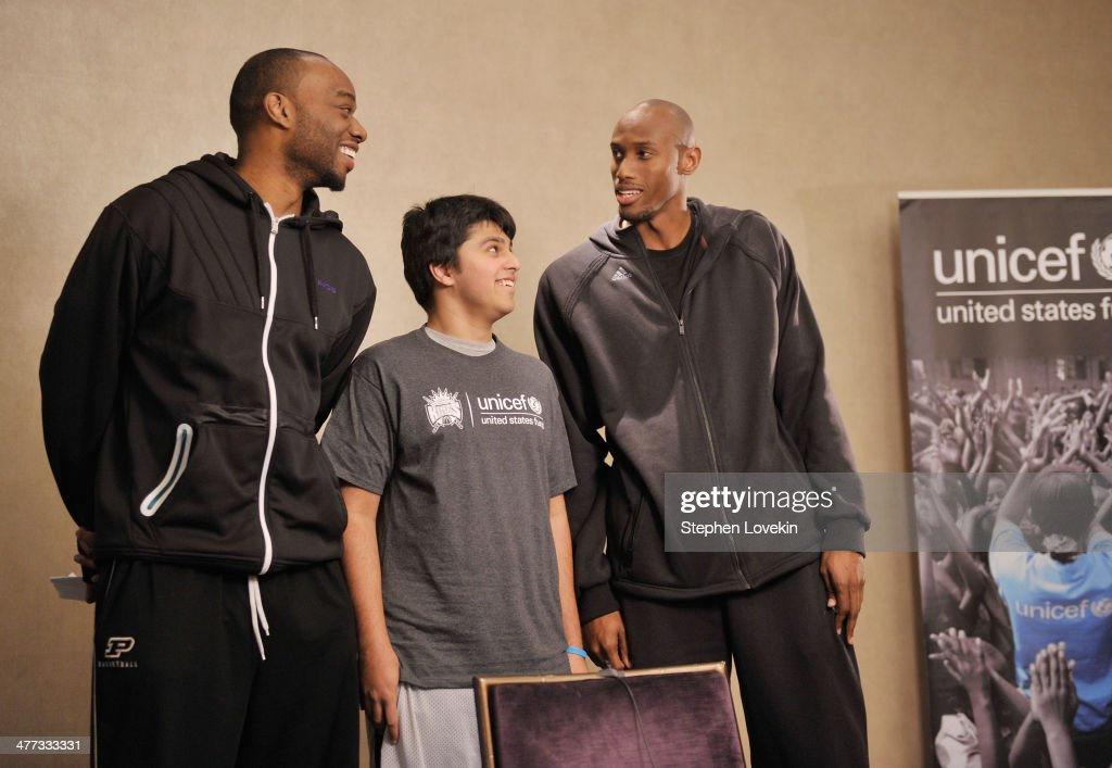 Sacramento Kings Support The UNICEF Tap Project