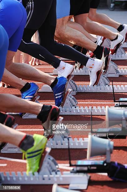 Athleten bereit für Sie