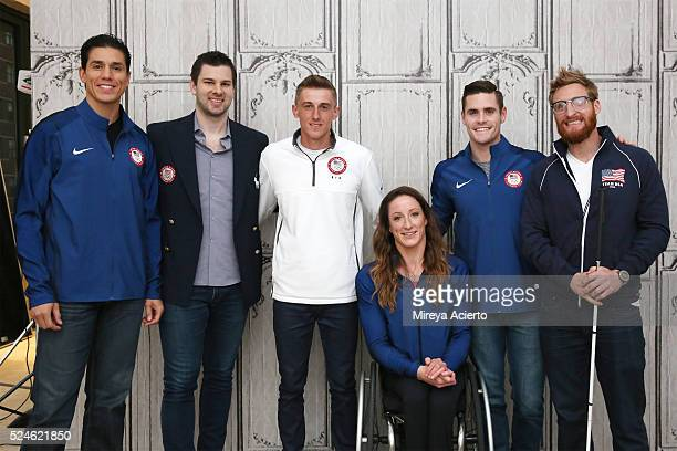Athletes Steven Lopez Tim Morehouse Michael Smolen Tatyana McFadden David Boudia and Brad Snyder discuss the 2016 Olympics and Paralympics in Rio De...