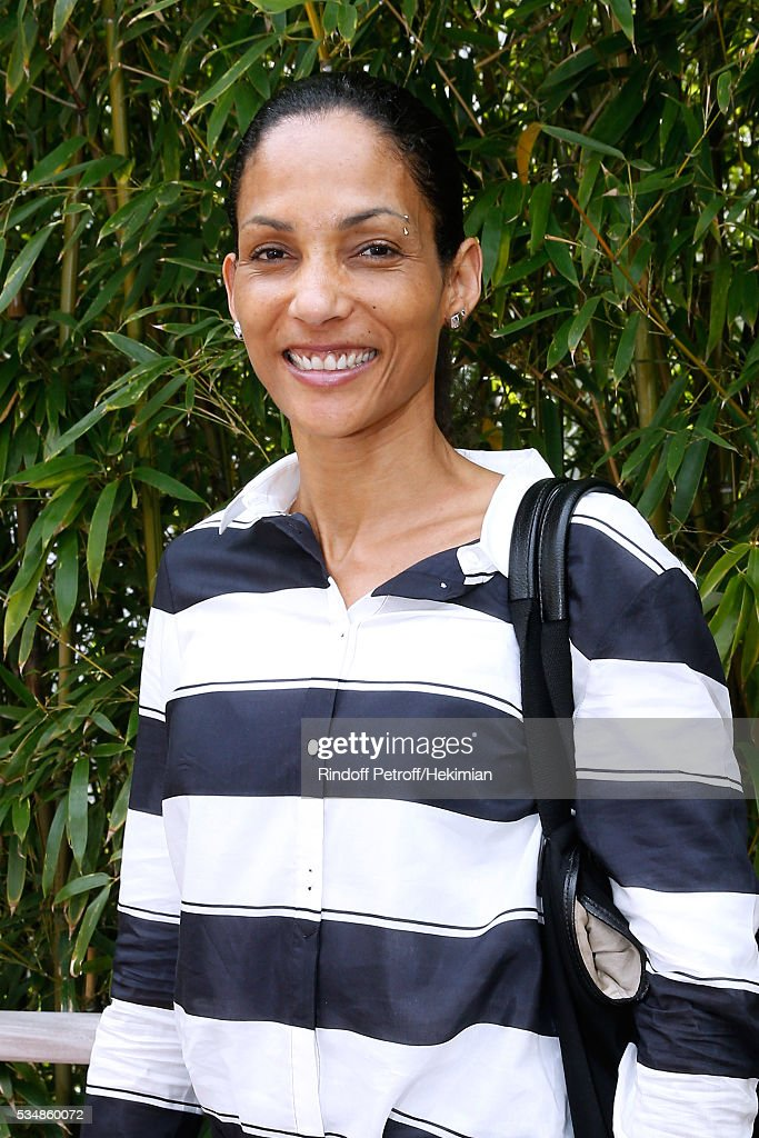 Athleth <a gi-track='captionPersonalityLinkClicked' href=/galleries/search?phrase=Christine+Arron&family=editorial&specificpeople=221054 ng-click='$event.stopPropagation()'>Christine Arron</a> attends Day Seven of the 2016 French Tennis Open at Roland Garros on May 28, 2016 in Paris, France.