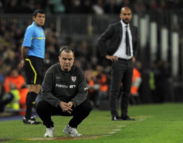 Athletic Bilbao's coach Marcelo Bielsa ( : News Photo