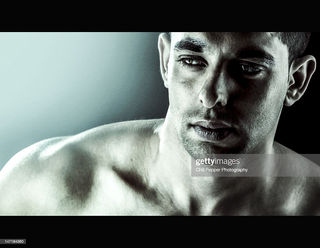 Athletic man : Stock Photo