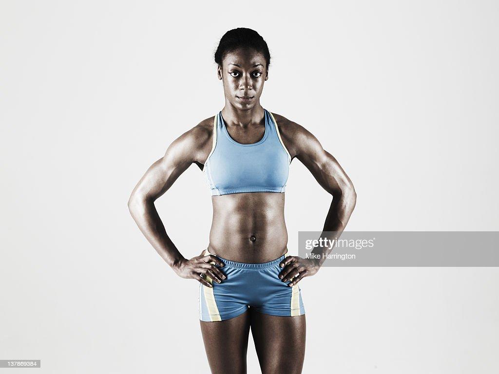 Athletic Toned Female : Stock Photo